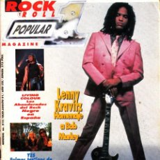 Revistas de música: REVISTA POPULAR 1 NUMERO 215 LENNY KRAVITZ. Lote 280123908