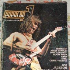 Revistas de música: REVISTA POPULAR 1 135 SEPTIEMBRE 1984 VAN HALEN BARÓN ROJO TOPO ARIEL CHARLY GARCÍA JOE JACKSON. Lote 283473018