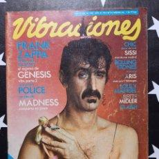 Revistas de música: REVISTA VIBRACIONES Nº 68. Lote 284765378