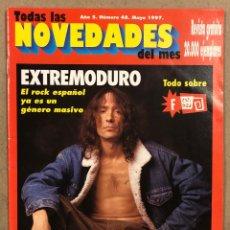 Riviste di musica: TODAS LAS NOVEDADES DEL MES N° 48 (1997). EXTREMODURO, ROCK ANDALUZ, FESTIMAD, DINOSAUR JR,….. Lote 286319378