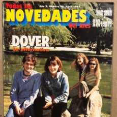 Riviste di musica: TODAS LAS NOVEDADES DEL MES N° 46 (1997). DOVER, PLATERO Y TÚ, BECK, EXTREMODURO. Lote 286320128