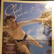 Revistas de música: PAUL MCCARTNEY - BEATLES - REVISTA OFICIAL CLUB SANDWICH - NUMERO 33 - 1984 - NO USO CORREOS. Lote 286539328