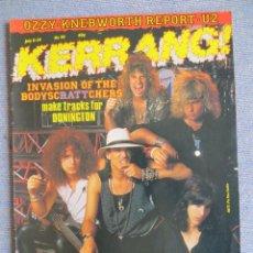 Revistas de música: KERRANG :N.98-RATT-WARLOCK-OZZY-HEAVY PETTIN-DEEP PURPLE-SCORPIONS. Lote 287935718