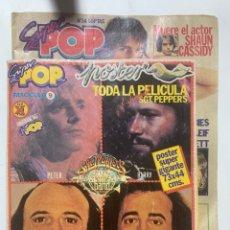 Revistas de música: REVISTA SUPER POP SUPERPOP Nº 34 CON POSTER PELÍCULA SGT PEPPER'S. Lote 287948158