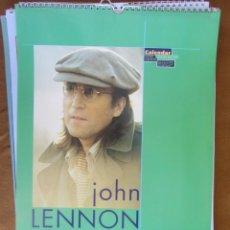 Revistas de música: GRAN CALENDARIO DE PARED. JOHN LENNON 1995. Lote 288072673