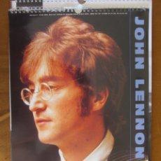 Revistas de música: GRAN CALENDARIO DE PARED. JOHN LENNON 1991. Lote 288073778