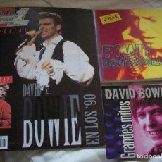 Revistas de música: DAVID BOWIE - ESPECIAL POPULAR 1 CON POSTER + LIBRO LETRAS(INGLES/ESPAÑOL) + CD. Lote 288130953