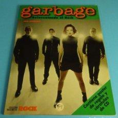 Revistas de música: GARBAGE. LOLA FERNÁNDEZ. POSTER Y CARÁTULAS CD. COLECCIÓN IMÁGENES DE ROCK Nº 95. Lote 288143213