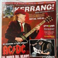 Revistas de música: KERRANG 186 REVISTA AC/DC (FALTA POSTER BUNBURY/LACUNA COIL). Lote 288146233