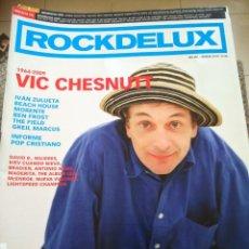 Revistas de música: REVISTA ROCKDELUX -- Nº 281 -- FEBRERO 2009 -- VIC CHESNUTT -- SIN CD --. Lote 288161593