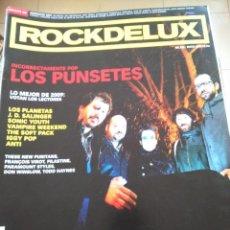 Revistas de música: REVISTA ROCKDELUX -- Nº 282 -- MARZO 2009 -- LOS PUNSETES -- SIN CD --. Lote 288161708