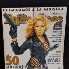 Revistas de música: ROLLING STONE / 31 / MAYO 2002 / 50 MÚSICOS MÁS SEXY / INTERESANTES ARTÍCULOS.. Lote 288174653