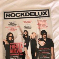 Revistas de música: REVISTA ROCK DE LUX FUERZA NUEVA LOS PLANETAS Y EL NIÑO DE ELCHE. Lote 288326428