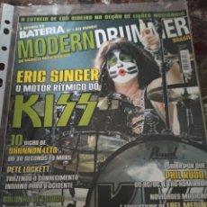 Revistas de música: KISS ERIC SINGER BATERIA MODERN DRUMMER 2010. Lote 288363228