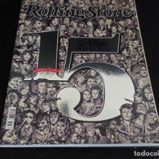 Revistas de música: ROLLING STONE / 181 / NOVIEMBRE 2014 / 15 AÑOS ENTRE LOS DIOSES / NÚMERO ESPECIAL.. Lote 288369553