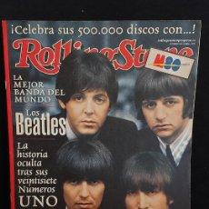 Revistas de música: ROLLING STONE / 18 / ABRIL 2001 / LOS BEATLES. SUS 27 NÚMEROS UNO / SUPLEMENTO.. Lote 288370078