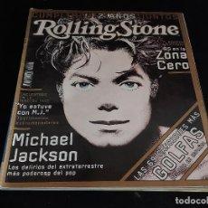 Revistas de música: ROLLING STONE / 25 / NOVIEMBRE 2001 / MICHAEL JACKSON / COMO NUEVA. Lote 288371238