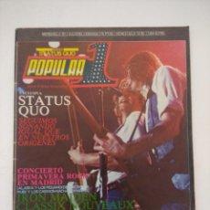 Revistas de música: POPULAR 1 Nº 97/ESPECIAL JAPON ROCK.. Lote 288487218