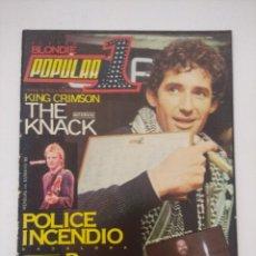 Revistas de música: POPULAR 1 Nº 83/RITCHIE CLACKMORE.. Lote 288487353