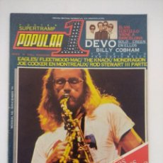 Revistas de música: POPULAR 1 Nº 78/SUPERTRAMP-ELVIS COSTELLO.. Lote 288487498
