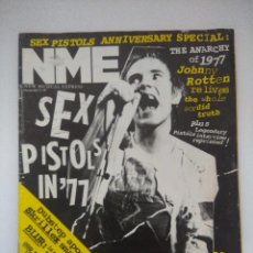 Riviste di musica: NEW MUSICAL EXPRESS/SEX PISTOLS ANNIVERSARY SPECIAL/THE ANARCHY OF 1977/PUNK.. Lote 288511368