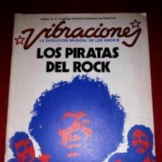 Magazines de musique: VIBRACIONES Nº 9 JUNIO DEL 75 LA EVOLUCIÓN MUSICAL DE LOS 70. Lote 288512713