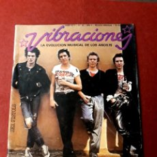Magazines de musique: VIBRACIONES Nº 35 AGOSTO DEL 77 LA EVOLUCIÓN MUSICAL DE LOS 70. Lote 288516653