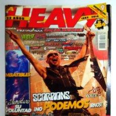 Revistas de música: REVISTA LA HEAVY Nº364 MARISKAL ROCK AÑO 2014 ENTREVISTA LOQUILLO REPORTAJE PÓSTER EXTREMODURO. Lote 288562708