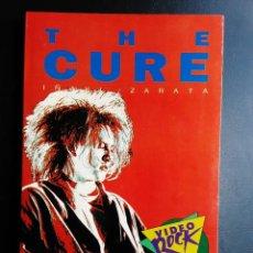 Riviste di musica: LIBRO, THE CURE, IÑAKI ZARATA, COLECCION VIDEO ROCK SALVAT 1990. Lote 288648353