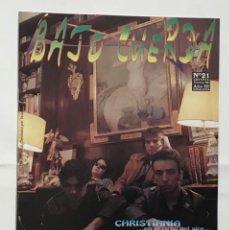 Revistas de música: BAJO CUERDA 21 EL PUCHERO DEL HORTELANO CHRISTIANIA SUBURBIA URBAN GLAD SOL NEGRO GOBLINS. Lote 289483238
