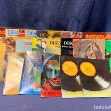 Revistas de música: LOTE 19 DISCOPLAY INFORMATIVO MUSICAL BOLETIN MUSICAL 1982-1983 21X15,5X4CMS. Lote 289484813