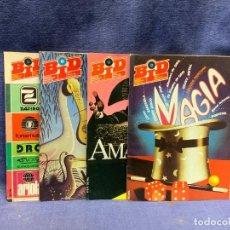 Revistas de música: LOTE 4 BOLETIN INFORMATIVO DISCOPLAY BID AÑOS 84,85,87 21X15,5X1CMS. Lote 289486213