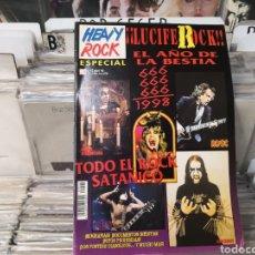 Revistas de música: HEAVY ROCK ESPECIAL 43 ROCK SATÁNICO. Lote 289487108