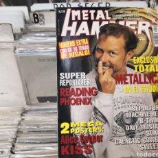 Revistas de música: METAL HAMMER, 119,METALLICA. Lote 289489148