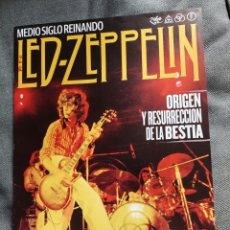 Revistas de música: REVISTA LED ZEPPELIN MEDIO SIGLO REINANDO THIS IS ROCK. Lote 289670563