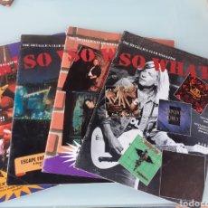 Revistas de música: THE METALLICA CLUB MAGAZINE LOTE. Lote 289679973