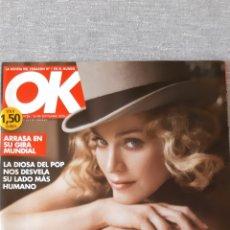 """Revistas de música: REVISTA """"OK!"""" MADONNA 2008. Lote 289770493"""