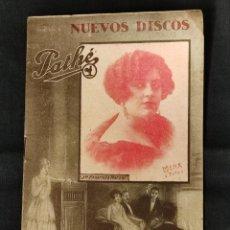 Riviste di musica: 1924 - PATHE - CATALOGO NUEVOS DISCOS - SUPLEMENTO Nº 3 -. Lote 292066428