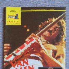 Riviste di musica: POPULAR 1 ESPECIAL: VAN HALEN - COMPLETA CON POSTER GIGANTE !!!!. Lote 293296408