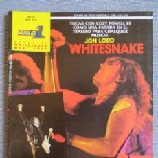 Riviste di musica: POPULAR 1 ESPECIAL: WHITESNAKE & MEAT LOAF - COMPLETA CON POSTER GIGANTE !!!. Lote 293297663