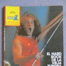 Riviste di musica: POPULAR 1 ESPECIAL:SCORPIONS - COMPLETA CON POSTER GIGANTE !!!!!!!!!!!!. Lote 293298643