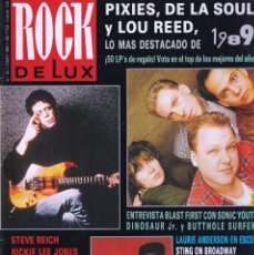 Riviste di musica: REVISTA ROCK DE LUX NUMERO 60 LO MEJOR DE 1989. Lote 294431303