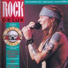 Riviste di musica: REVISTA ROCK DE LUX NUMERO 76 GUNS AND ROSES. Lote 294437013