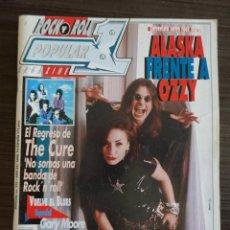 Revistas de música: POPULAR 1 # 223 - ALASKA FRENTE A OZZY (INCLUYE POSTER DIRE STRAITS). Lote 295774943