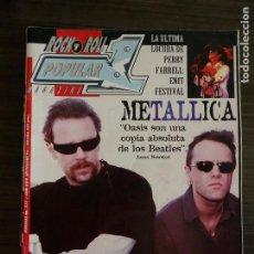 Revistas de música: POPULAR 1 # 277 - METALLICA. Lote 295775668