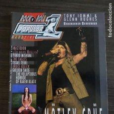 Revistas de música: POPULAR 1 # 382 - MOTLEY CRUE. Lote 295777158