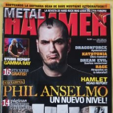 Revistas de música: REVISTA METAL HAMMER 267, FEBRERO 2010. Lote 295780808