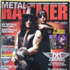Revistas de música: REVISTA METAL HAMMER 269 ABRIL 2010. Lote 295782263
