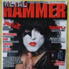 Revistas de música: REVISTA METAL HAMMER 270 MAYO 2010. Lote 295782773