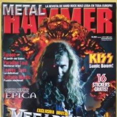 Revistas de música: REVISTA METAL HAMMER 263,OCTUBRE 2009. Lote 295783503